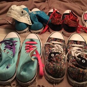 Converse sneakers women's size 9